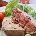パリ4区 - パテ ド カンパーニュ <お肉のテリーヌ>