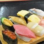 さかな大食堂 渚 - 寿司食べホ 四順目 このマグロが今日イチでした。