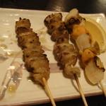 鶏料理太閤 - 焼き鳥盛り合わせ
