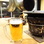 伸 - キリン一番搾り生ビール¥500