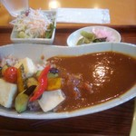 松竹堂cafe - 野菜と豆腐