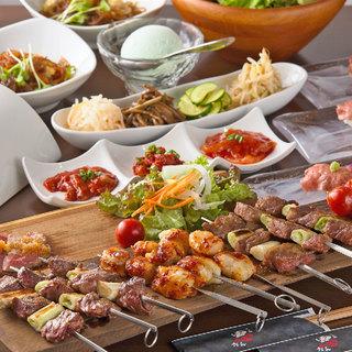 特選肉を楽しむお得なコースを多数ご用意◎女子会特典もあります