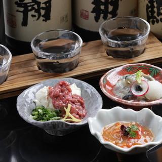 この道20年。料理長が織りなす、日本酒で魅了する道内外の珍味