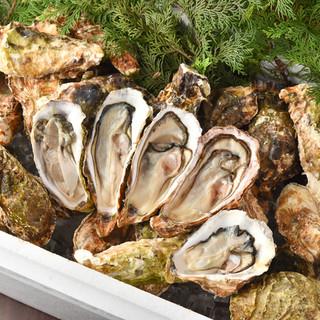 天然生牡蠣