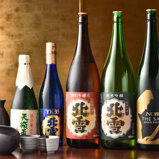 新潟の地酒をご用意しております。