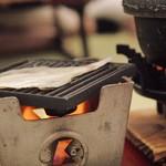 加賀屋 - 料理写真:朝から干物を焼きながら頂くのです。最高!