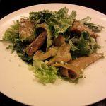 ピッターレ - バジルチキンのシーザーサラダ(750円)