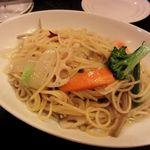 ピッターレ - 冬野菜のペペロンチーノ(1200円)