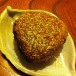 青葉 - 料理写真:〆は焼きおにぎり必須