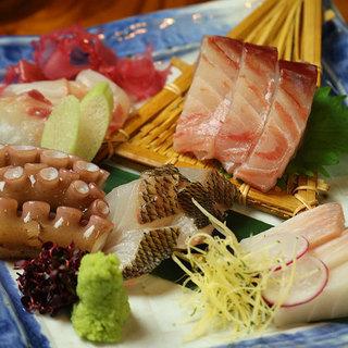 市場買付!新鮮な旬の鮮魚を心ゆくまでご堪能ください。
