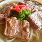 沖縄そば 森の家 - 料理写真:ソーキそば