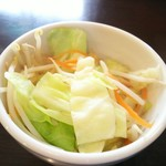 にぼshin. - トッピング/野菜(キャベツ・人参・もやし)ほかほか温かい