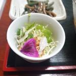 110523881 - つみ草サラダ