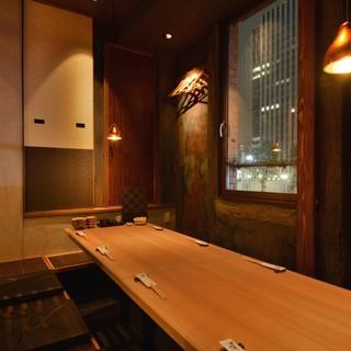◆個室完備!接待や記念日など最大8名様まで対応した座敷個室