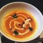 11053242 - ランチ、お店自慢のスープ