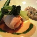 11053243 - ランチのお魚(&エビ)料理
