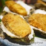 酒亭赤坂かねさく - 岩牡蠣(カキフライ)