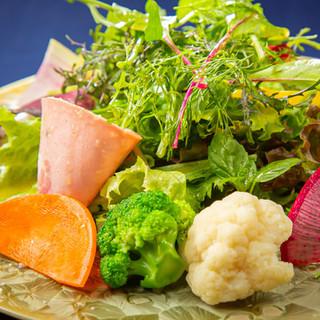 心と体が喜ぶ、オーガニックな京風イタリア料理