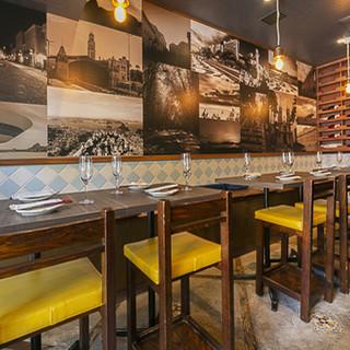 洗練されたブラジルの食と文化を、居心地のいい空間で満喫