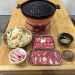 ジンギスカン 楽太郎 - 食べ飲み放題コース