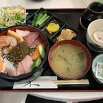 なにわ屋 - 海鮮丼定食