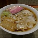 らーめん 鴨to葱 - 鴨ワンタン麺