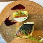 燕三条イタリアンBit - 真鯛のソテーと夏野菜のテリーヌ