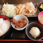 110557032 - 定番の生姜焼き定食
