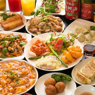 【いつでも作り立ての美味しさを】本格中華80種類が食べ放題!