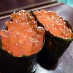 紋寿司 - イクラも食べたかったので