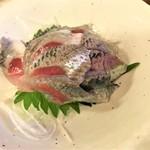 110564755 - 190620木 神奈川 中央酒場 いわし刺身450円