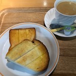 ウィリー ウィンキー - トーストセット イギリスパン 391円。