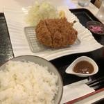ローストポークわん - 料理写真:ローストポークとんかつ定食