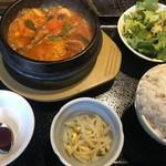 110568089 - 純豆腐チゲ定食