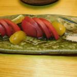 大衆酒場 YATSU the CAFE - 冷しトマト