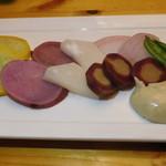大衆酒場 YATSU the CAFE - 蒸し野菜