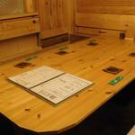 大衆酒場 YATSU the CAFE - 内観写真:個室室内