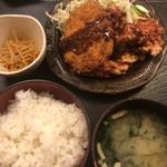 養老乃瀧 - メンチカツ鶏唐揚げ