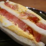 清月 - サンドイッチ(トマト&タマゴ)アップ