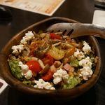 けむり - ベーコンとキノコの温サラダ