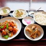 中国料理 中華圓 - 酢豚定食