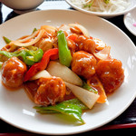 中国料理 中華圓 - 酢豚