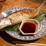 田楽 - さんま塩焼き