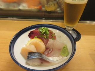 すし庵じゅん彩 - 寿司屋なので刺身盛は新鮮