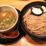 110575016 - ●つけ麺・並盛り850円(税込み)