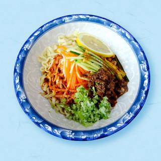 台湾ピリ辛冷麺「麻辣冷麵」