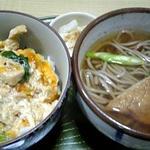 魚竹 - 料理写真:小丼と蕎麦orうどんセット750円