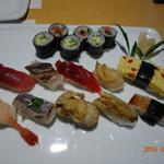 双葉寿司 - 料理写真:店主おすすめの握り 5150円