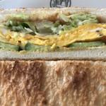 BON POINT CARDIN - Aセットの卵サンド