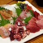 仙台銀座 キンタロウ - 朝獲れ鮮魚のお刺身